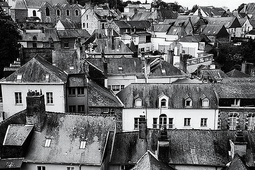 Old city roofs by Zina Zinchik