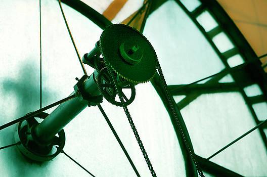 Old Clock Gears by Marilyn Hunt