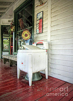 Old Clothes Washer by Marion Johnson