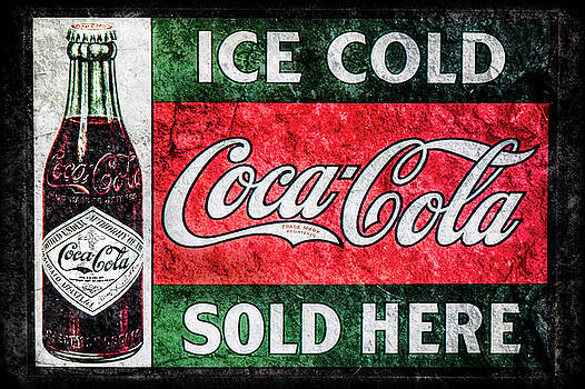 Old Coke Sign by Michael Arend