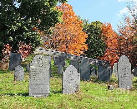 Old Concord Cemetery by Cheryl Del Toro