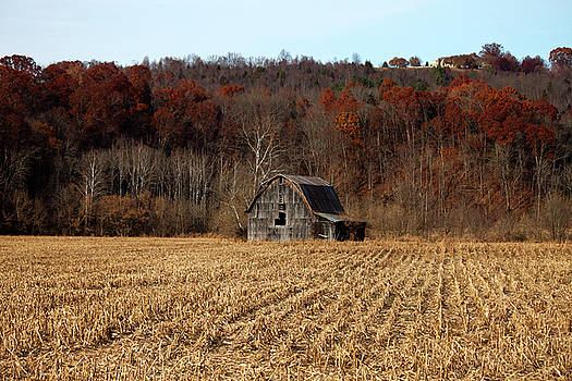 Old Country Barn in Autumn #1 by Jeff Severson