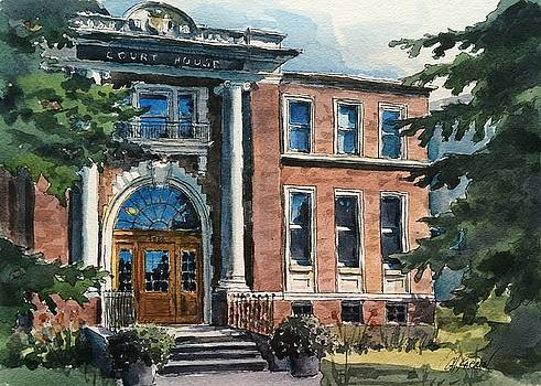 Old Court House by Christine Karron