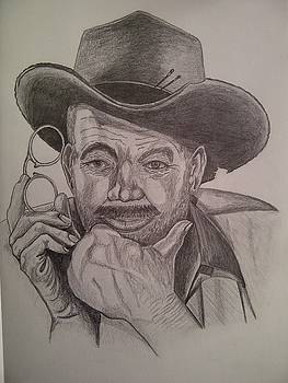 Old Cowboy reproduction by Iven Maniscalco