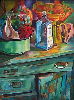 Old Cupboard by Donna Teleis