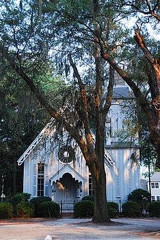 Old Cypress Church by Margaret Palmer