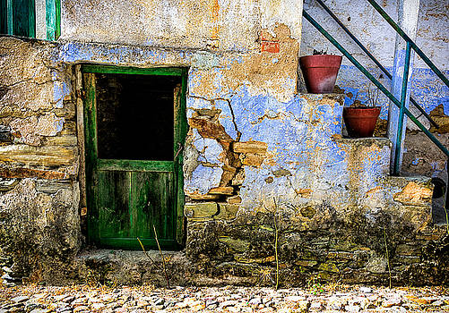 Old Door in Portugal by Marion McCristall