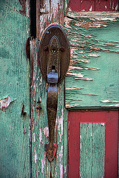 Old Door Knob 2 by Joanne Coyle