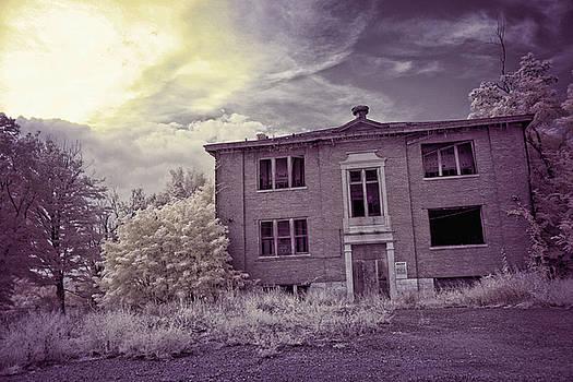 Old Edmonton High School IR by Amber Flowers