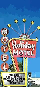 John Malone - Old Fifties Vegas Hotel Sign Painting