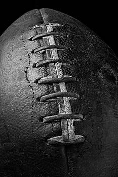 Old Football In Black And White by Garry Gay