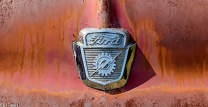 Old Ford by Mike Ronnebeck