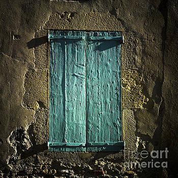 BERNARD JAUBERT - Old green shutters closed