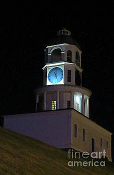 Old Halifax Town Clock on Citadel Hill by John Malone