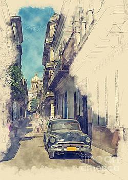 Old Havana by Sergey Korotkov
