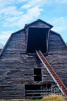 Old Hay Barn  by JW Hanley