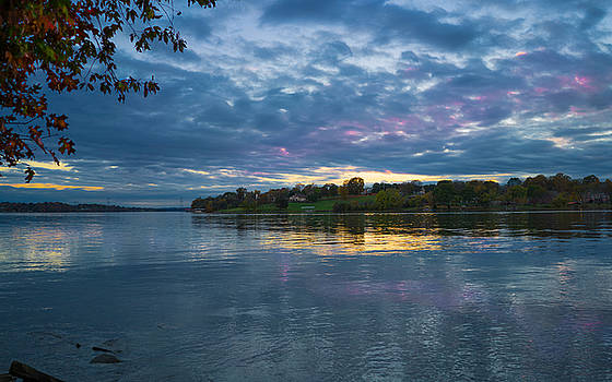 Old Hickory Lake Sunset by Paula Ponath