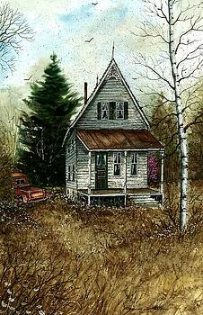 Old Homestead by Steven W Schultz