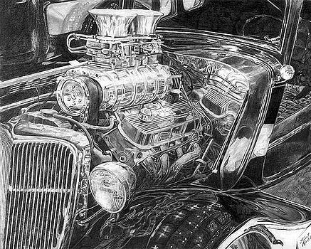 Old Hot Rod by Kurt Holdorf