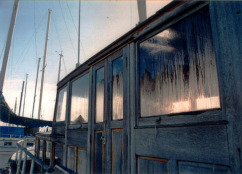 Old House Boat by Christina Knapp