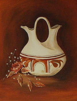 Old Indian Pot by Ann Kleinpeter