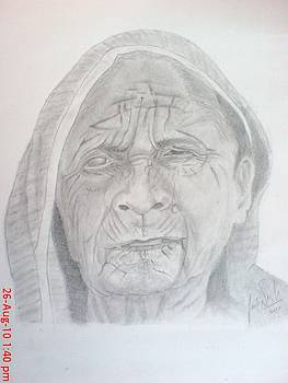 Old Lady by Jaiteg Singh