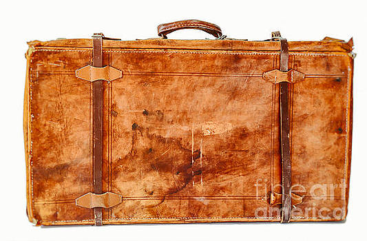 Patricia Hofmeester - Old leather suitcase