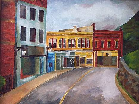 Old Main Street by Donna Teleis