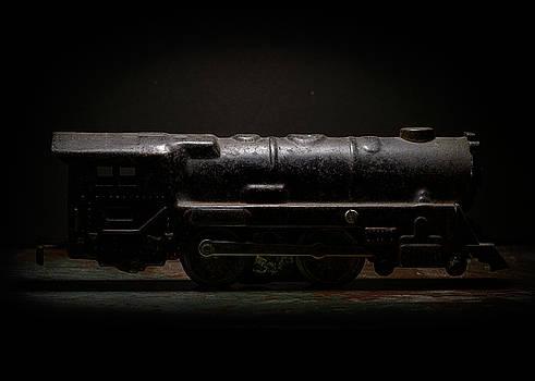 Art Whitton - Old Metal Toy Locomotive