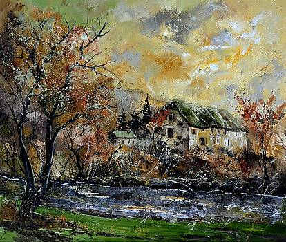 Old mill in Resteigne by Pol Ledent