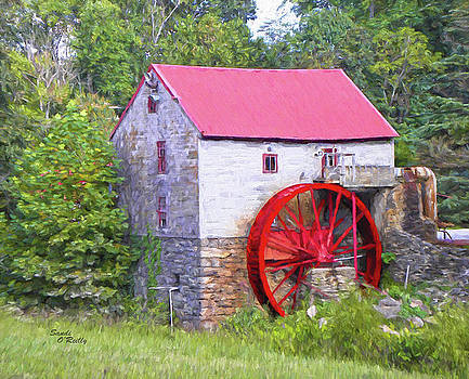 Old Mill of Guilford Painted by Sandi OReilly