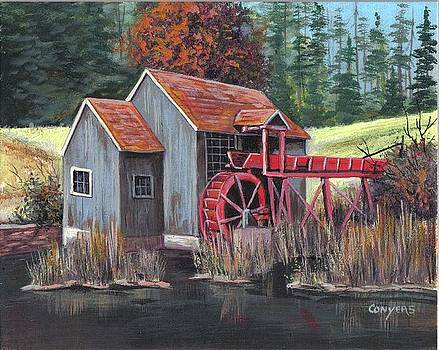 Old Mill by Peggy Conyers
