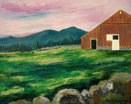 Old New Hampshire Barn by Richard Beauregard