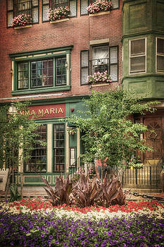 Old North End - North Square - Boston by Joann Vitali