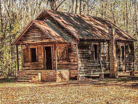 Old One Room School House by Phillip Burrow