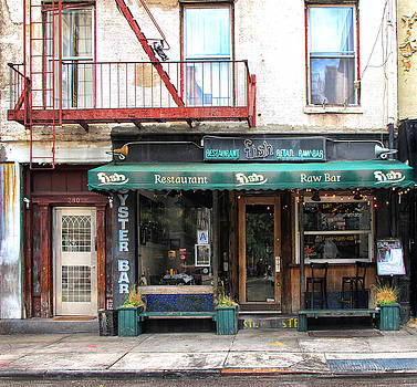 Old Oyster Bar New York City by Dave Mills