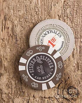 Edward Fielding - Old Poker Chips