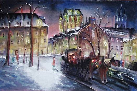 old Quebec by Peter Suhocke