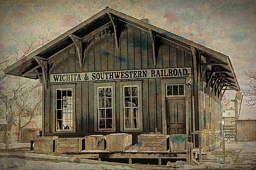 Old Railroad Station by Lynn Sprowl