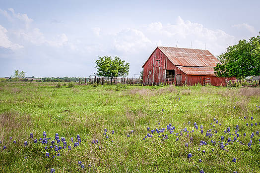 Old Red Barn by Leesa Toliver