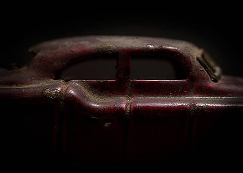Art Whitton - Old Red Toy Car Detail