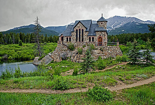 James Steele - Old Rock Church On A Cloudy Day