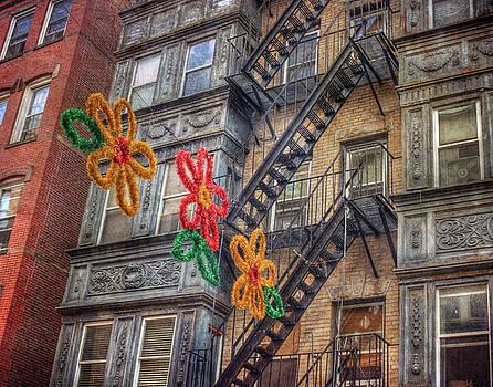 Old Row Houses - North End - Boston by Joann Vitali