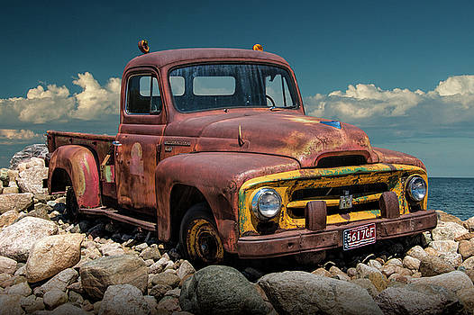 Randall Nyhof - Old Rusted International Harvester Pickup Truck