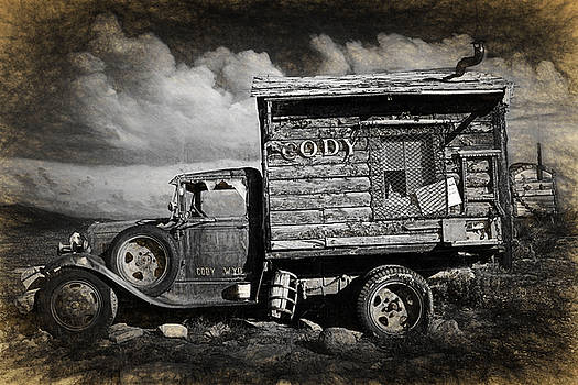 Randall Nyhof - Old Rusted Truck from Cody Wyoming