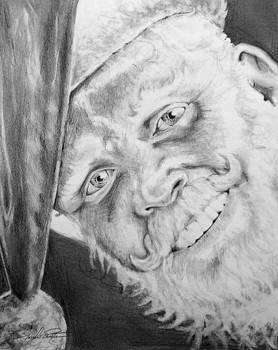 Old Saint Nick  by Joseph Palotas