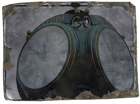 Old Saluda Clock by Cathy Harper