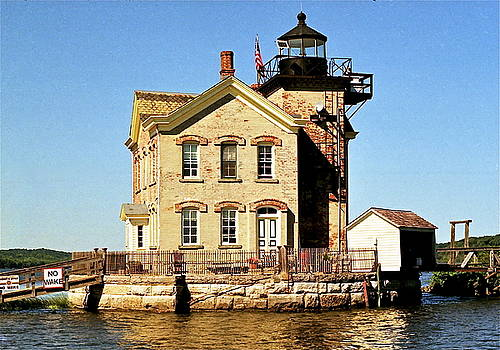 Old Saugerties Lighthouse by Ira Shander
