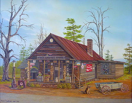 Old Sautee Store in Georgia by Vivian Eagleson