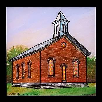 Old Schoolhouse, Vermilion, Ohio by Jim Harris